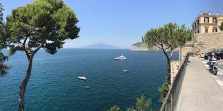 Sorrento, Włochy scenerii pejzaż miejski zdjęcia royalty free