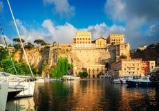 Sorrento, zuidelijk Italië stock fotografie