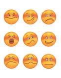 Sorria-orang Imagem de Stock