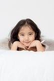 Sorridendo di un angelo Fotografie Stock