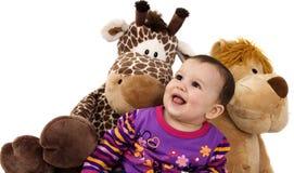 Sorridere del bambino Fotografie Stock