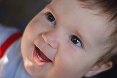 Sorridere del bambino fotografia stock