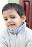 Sorridere del bambino del ragazzo Fotografie Stock
