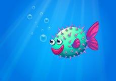 Sorridere del pesce della soffiatore royalty illustrazione gratis