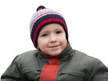 Sorridere del piccolo bambino Immagini Stock Libere da Diritti