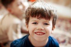 Sorridere del ragazzino Fotografia Stock Libera da Diritti