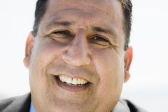 sorridere del ritratto dell'uomo Fotografie Stock Libere da Diritti