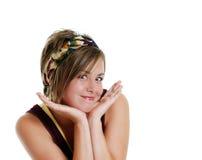 Sorridere dell'adolescente Fotografie Stock Libere da Diritti