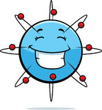 Sorridere dell'atomo Fotografia Stock