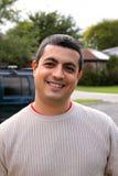 sorridere dell'uomo Fotografia Stock Libera da Diritti