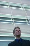 Sorridere dell'uomo di affari Fotografie Stock