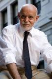 Sorridere dell'uomo più anziano Immagini Stock Libere da Diritti