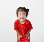 Sorridere della bambina Fotografia Stock