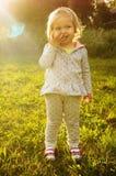Sorridere della bambina Fotografia Stock Libera da Diritti