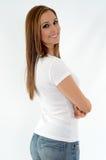 Sorridere della donna Fotografia Stock