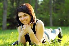 Sorridere della donna Fotografie Stock Libere da Diritti