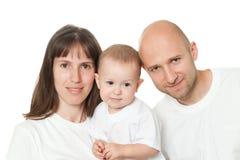 sorridere della famiglia Immagine Stock Libera da Diritti