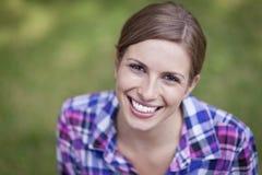 Sorridere della giovane donna Immagine Stock Libera da Diritti