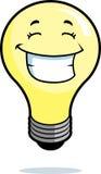Sorridere della lampadina Fotografia Stock