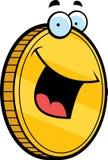 Sorridere della moneta illustrazione vettoriale