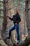 sorridere della ragazza Fotografia Stock