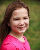 Sorridere della ragazza Fotografie Stock