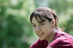 sorridere della ragazza Immagine Stock Libera da Diritti
