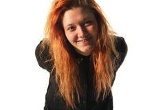 Sorridere della ragazza di Readhead Fotografia Stock Libera da Diritti