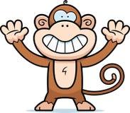 Sorridere della scimmia illustrazione di stock