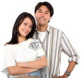 Sorridere delle coppie Fotografie Stock