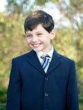 Sorridere dello scolaro Fotografia Stock