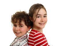 Sorridere felice dei bambini Immagini Stock Libere da Diritti
