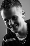 Sorridere felice del ragazzo Fotografia Stock Libera da Diritti