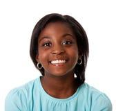 Sorridere felice dell'adolescente Immagini Stock Libere da Diritti