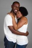 Sorridere felice delle coppie fotografie stock libere da diritti