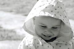 sorridere grazioso del bambino Immagini Stock