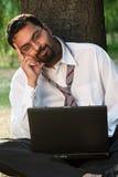 Sorridere indiano Fotografie Stock