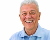 Sorridere senior Immagini Stock