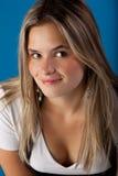 Sorridere teenager Fotografie Stock Libere da Diritti