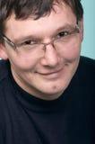 Sorrindo o homem fotografia de stock royalty free