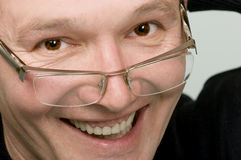 Sorrindo o homem Fotos de Stock Royalty Free