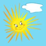 Sorrindo pouco sol Foto de Stock Royalty Free