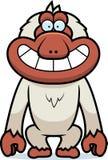 Sorrir forçadamente do Macaque dos desenhos animados Imagens de Stock Royalty Free