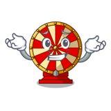 Sorrir o brinquedo da roda de gerencio isolou o caráter ilustração stock