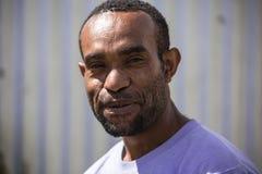 Sorrisi della Papuasia Nuova Guinea Fotografia Stock Libera da Diritti
