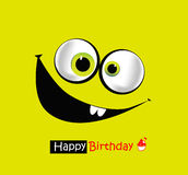 Sorrisi di buon compleanno Immagini Stock