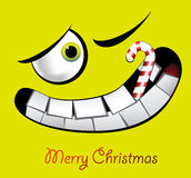 Sorrisi di Buon Natale Fotografia Stock Libera da Diritti