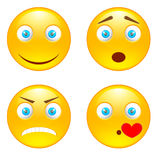Sorrisi di emozione Fotografie Stock