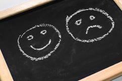 Sorrisi dipinti Immagine Stock Libera da Diritti