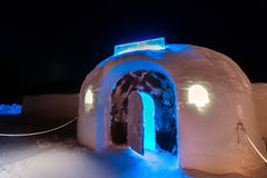 Sorrisniva Ice Hotel, Norway Stock Photos